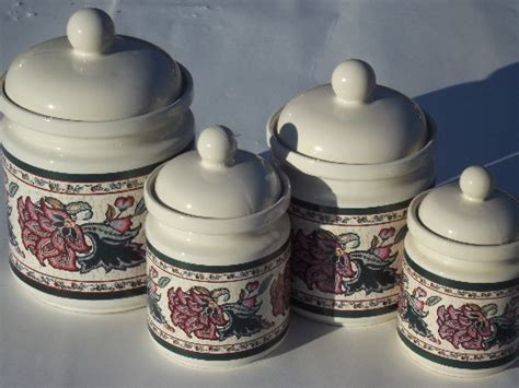 ceramic kitchen canister sets kitchen canister sets ceramic 28 images quail run