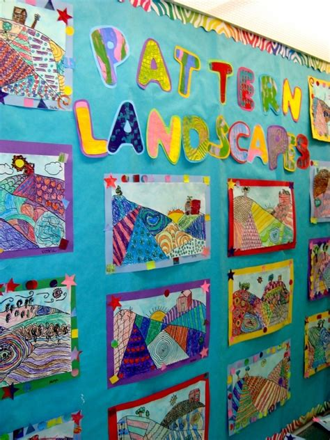 Landscape Grade 4 Top 25 Ideas About Bulletin Boards On