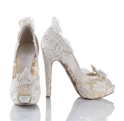 Pretty Bridal Shoes by Lace Bridal Wedding Shoes Pretty Bridal Shoes