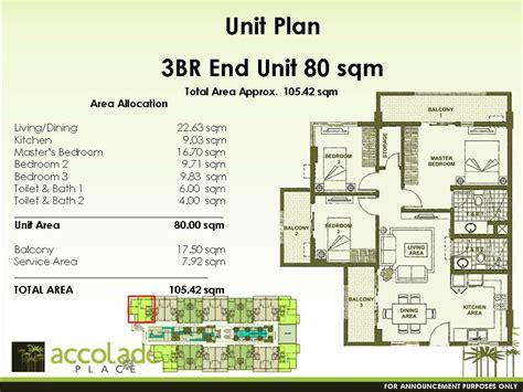 Beautiful Interior Homes by Condo Sale At Accolade Place Condominiums Floor Plans