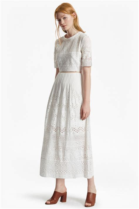 Embroidered Maxi Dress hesse embroidered maxi dress collections connection