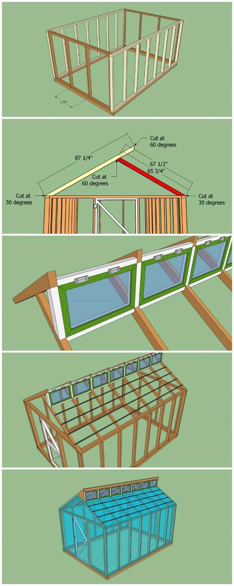 80 free small designs insider 80 diy greenhouse ideas with step by step tutorials diy