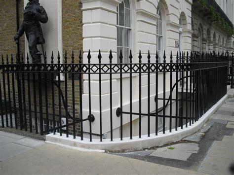 cast iron railings fitzroy square arc fabrications