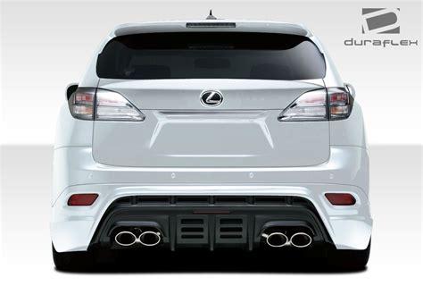 lexus rear bumper 2010 2014 lexus rx series rx350 rx450 duraflex w 1 rear