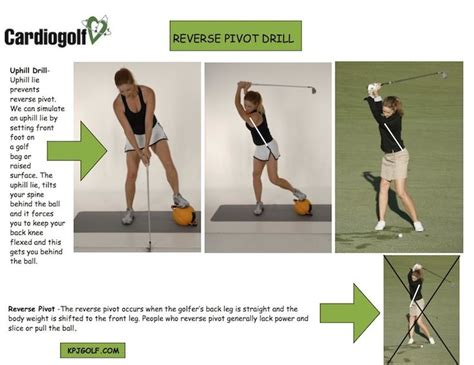 reverse pivot golf swing reverse pivot drill kpjgolf com golf pinterest