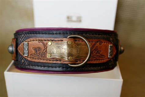 large collars carthage rustic leather collar for large and breeds limited edition