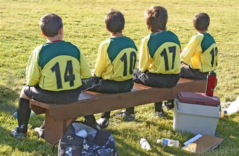 soccer player bench what is a character reference letter with pictures