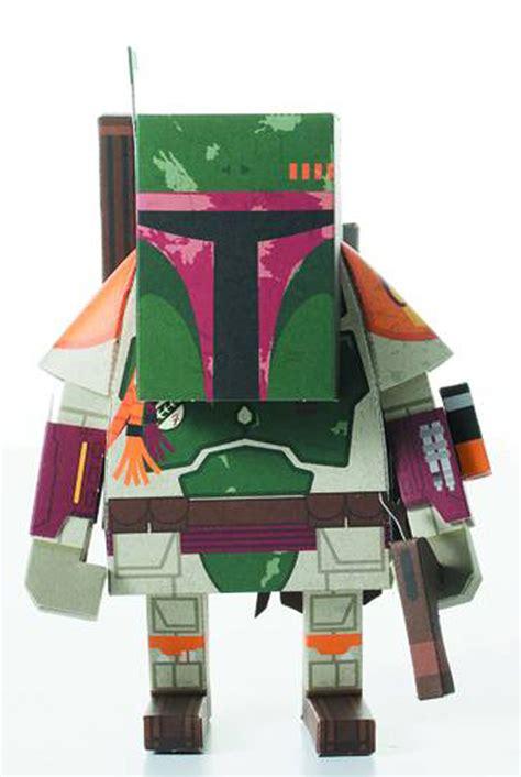 Boba Fett Papercraft - wars momot papercraft figure boba fett westfield