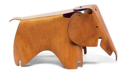 Eames Elephant Stool by An Eames Elephant For Hudson