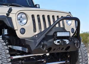 nighthawk front bumper with mid stinger for jeep