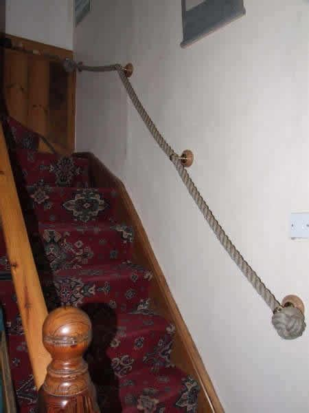 rope stair railing home stairways railings