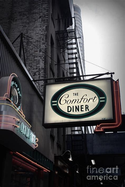 the comfort diner new york ny comfort diner new york photograph by miriam danar