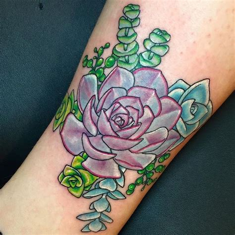 succulent tattoo best 25 succulent ideas on