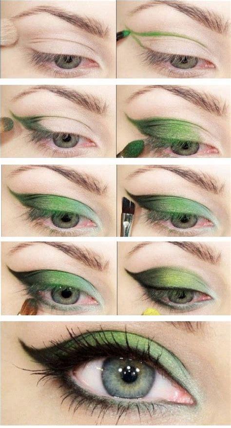 Tutorial Eyeshadow Green   12 best makeup tutorials for green eyes