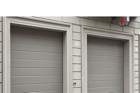 portoni sezionali per garage modello portone sezionale con pannello verniciato