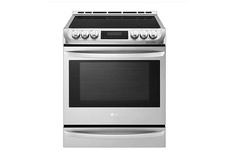 lg induction cooking lg 30 in slide in induction range kitchen bath business