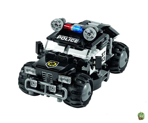 police jeep instructions 70808 the movie robo police 4x4 swat car no