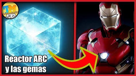 iron man las gemas del infinito teoria del teseracto