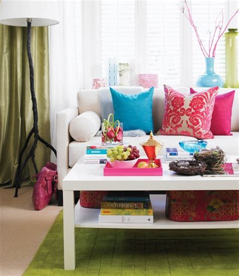 bright color home decor inspired by brown sugar toast