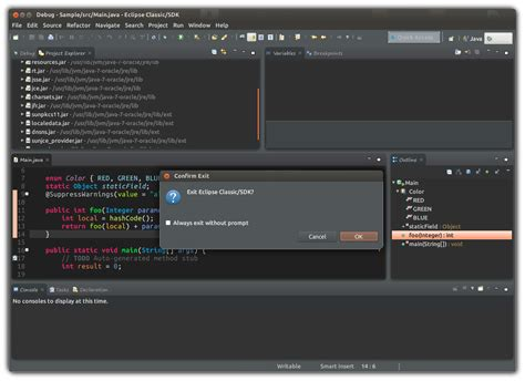 eclipse theme black background eclipse ide for java full dark theme stack overflow