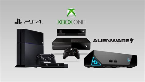 ps4 vs xbox one console alienware alpha vs ps4 vs xbox one graphics comparison
