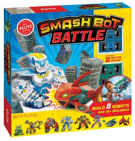 klutz smash bot battle island treasure toys