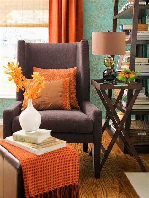 Turquoise And Orange Home Decor by Orange Brown And Teal Design Viii Pinterest