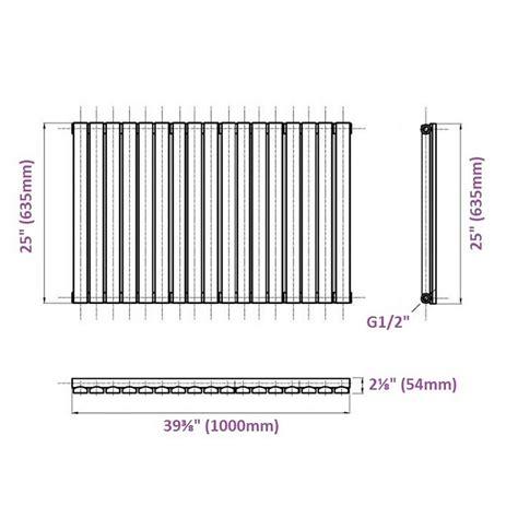 designer kleiderhaken 635 design heizk 246 rper elektrisch horizontal einlagig wei 223