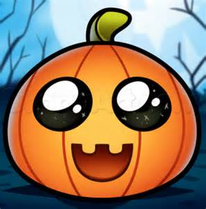draw cute pumpkin step step halloween seasonal free drawing tutorial