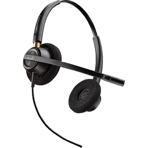 plantronics encorepro hw520 binural corded headset voip