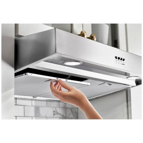 whirlpool under cabinet microwave wvu37uc0fw whirlpool 30 quot under cabinet range hood with