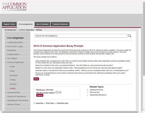 2014 15 College Application Essay Prompts Ivywise 17 Best Images About College Bound On Design Competitions Crafting And Portal