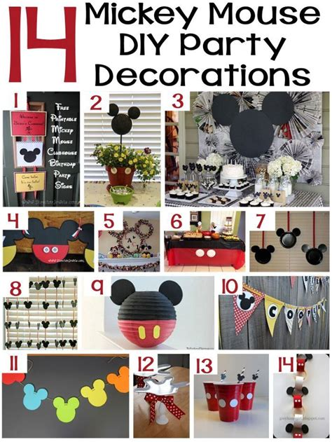mickey mouse decorations diy 70 mickey mouse diy birthday ideas about family