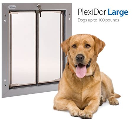 Electronic Doors For Large Dogs by Plexidor Pet Doors The Right Door Size