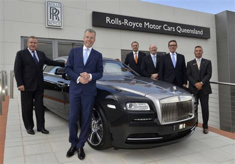 roll royce australia rolls royce opens third australian showroom in queensland