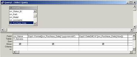 format date field in access query functions access ss64 com