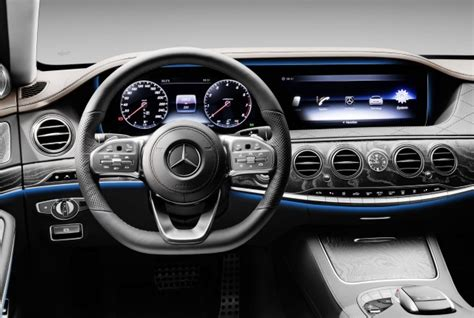 Interior Accents 2018 Mercedes Benz S Class Preview