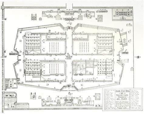 Winery Floor Plans the depot for prisoners of war at norman cross