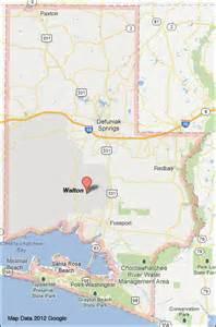 walton county florida map