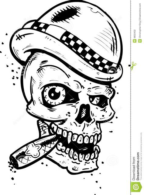 Cranio Helm Aufkleber by Cranio Punk Di Stile Del Tatuaggio Con Le Ali Che Fumano