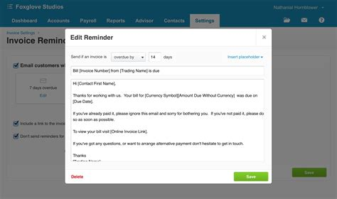 invoice reminder template why invoice reminders are your secret weapon to getting