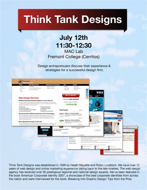 discuss layout strategy design entrepreneurs from think tank designs discuss their