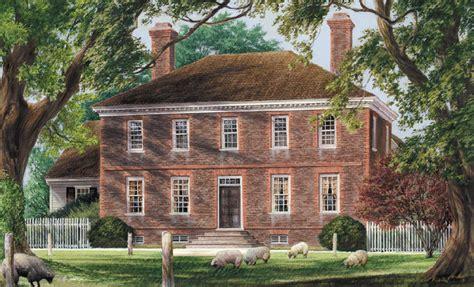William E Poole Designs   George Wythe House