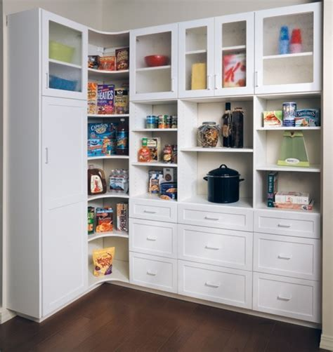 creek pantry in white melamine traditional