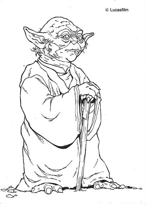 coloring pages wars yoda yoda coloring pages hellokids