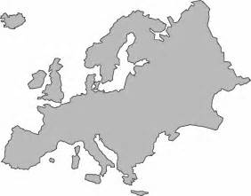 Outline Map Europe And Asia by Outline Map Of Europe Clipart Best