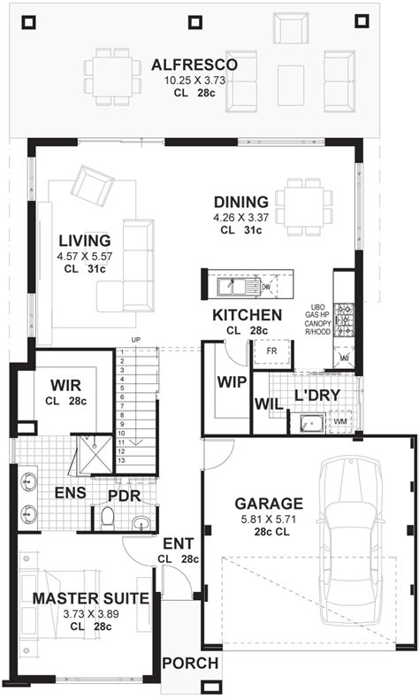 two story house blueprints cottage lot 2 storey house plans designs perth vision one homes