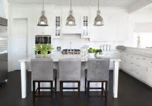 Modern Kitchen Lighting Pendants Benson Pendant Lights Bring An Antique Touch To This Modern White Kitchen Decoist
