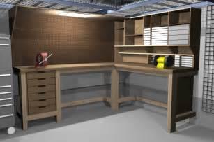Charming Garage Storage Mezzanine #7: Workbench3d_4.jpg
