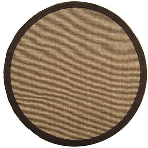 Oval Sisal Rug by Woven Sisal Choco Brown Jute Rug 8